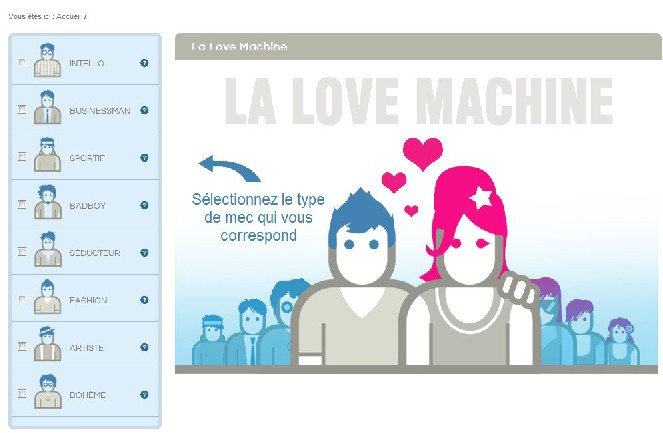 rencontrer avec la love machine